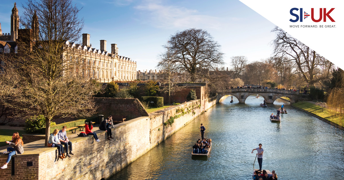 University of Cambridge ปรึกษาเรื่องเรียนต่อUKฟรี ได้ที่ SI-UK