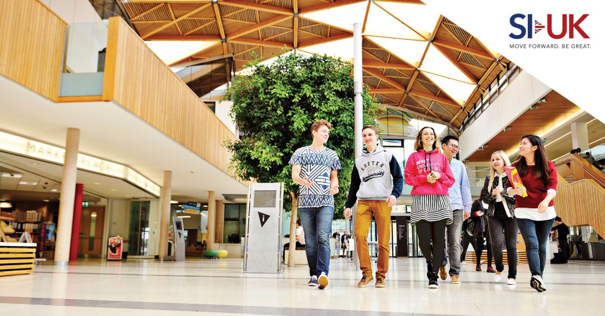 University of Exeter ปรึกษาเรื่องเรียนต่อกับพี่ ๆ SI-UK