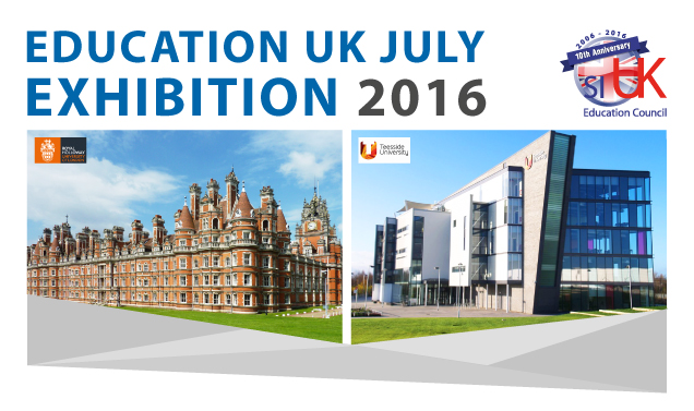 Education UK July exhibition 2016