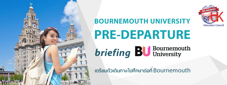 Bournemouth University Pre-departure Briefing