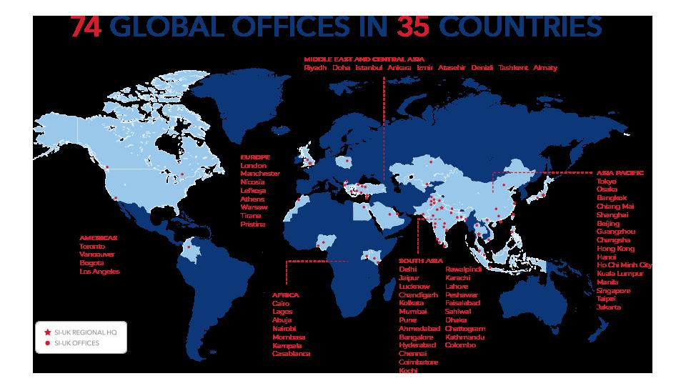SI-UK Global Map