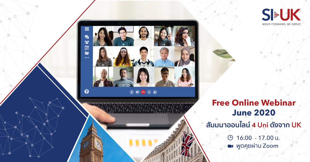 Online Webinar of June 2020