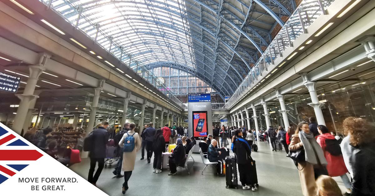 Train in London