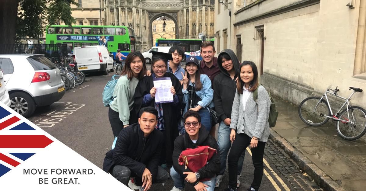Thai Students in UK