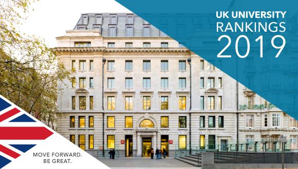 การจัดอันดับมหาวิทยาลัยที่ดีที่สุดใน UK 2019